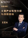 文旅产业转型升级与创新营销-王亚夫-大商汇商学